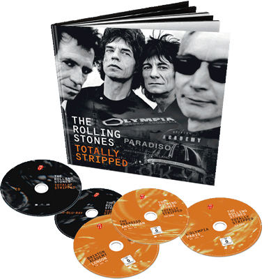 Rolling Stones Totally Stripped Deluxe