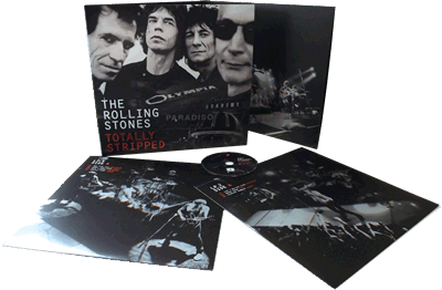 Rolling Stones Totally Stripped Vinyl/DVD