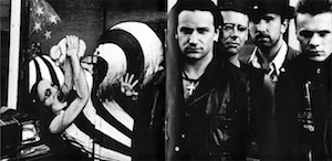 U2 - Rattle & Hum Inside Sleeve