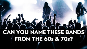 Name That 60s + 70s Band Quiz