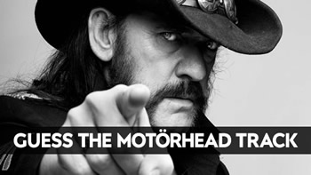 Guess The Motorhead Track Quiz