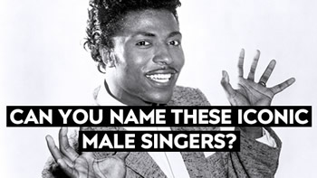 Name The Iconic Male Singer Quiz
