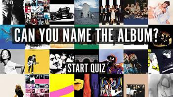 Album Covers 1 Quiz