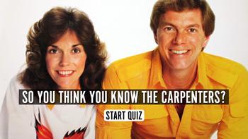 The Carpenters Quiz