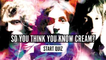 The Cream Quiz