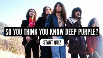 The Deep Purple Quiz