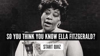 The Ella Fitzgerald Quiz