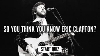 The Eric Clapton Quiz