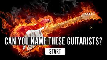 The uDiscover Guitarists Quiz