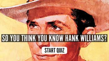 The Hank Williams Quiz