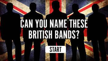 British Bands Quiz