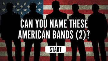 American Bands Quiz (2)