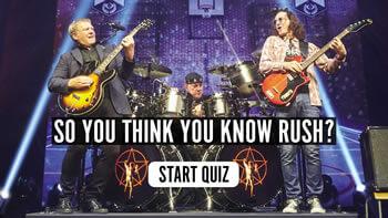 The Rush R40 Quiz