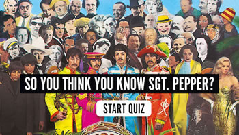 So You Think You Know Sgt Pepper Quiz