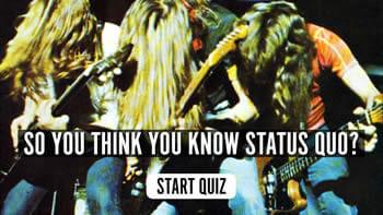 The Status Quo Quiz