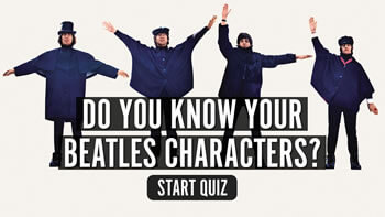 The uDiscover Beatles Characters Quiz