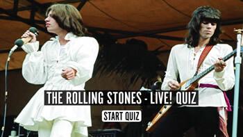 The Rolling Stones Live! Quiz