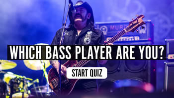 Which Bass Player Are You? Quiz