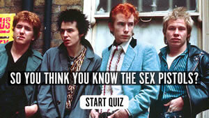 The uDiscover Sex Pistols Quiz